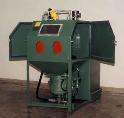 Abrasive blast cleaning equipment from Kelco Sales and Engineering Co.